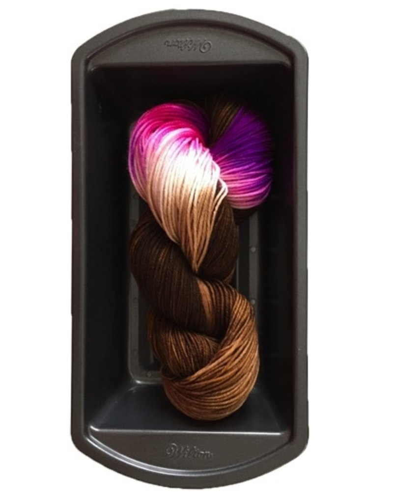 Delicious Yarns Two Sweets Fingering, Chocolate Mix 3