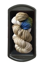 Delicious Yarns Two Sweets Fingering, Oatmeal Mix 2