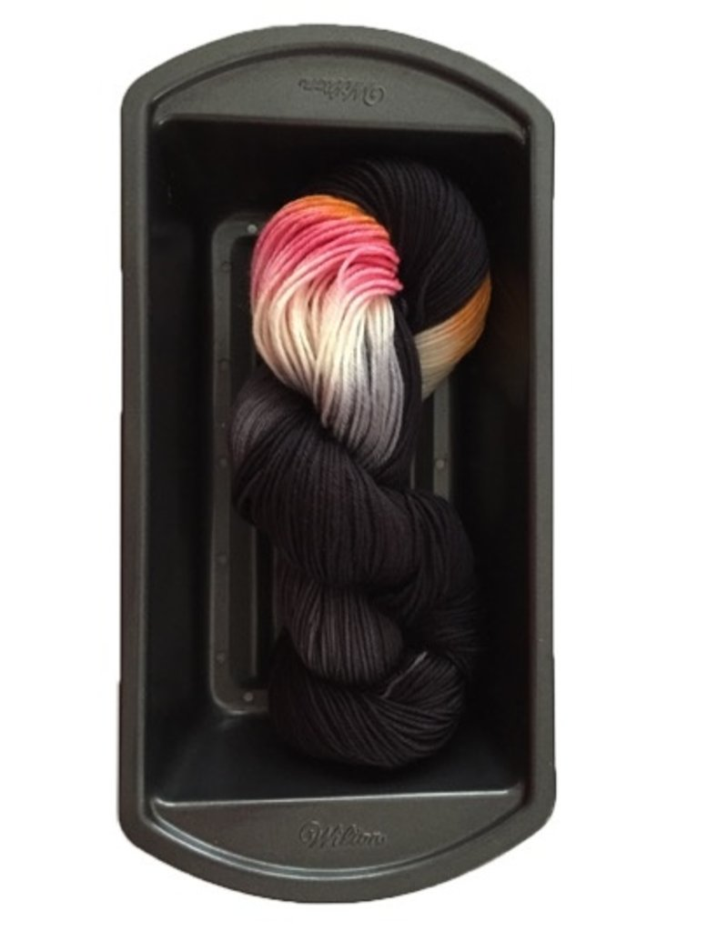 Delicious Yarns Two Sweets Fingering, Licorice Mix 1