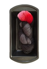 Delicious Yarns Two Sweets Fingering, Licorice Mix 4