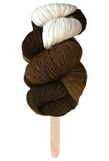Delicious Yarns Swirl Fingering, Chocolate