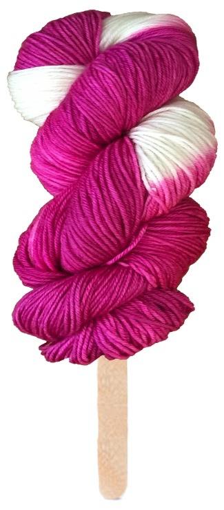Delicious Yarns Swirl Fingering, Raspberry