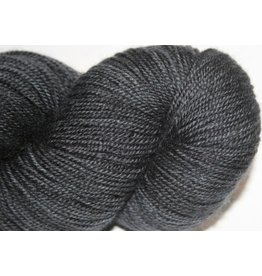 Madelinetosh BFL Sock, Dirty Panther