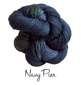 Lornas Laces Shepherd Worsted, Navy Pier *CLEARANCE*
