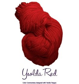 Lornas Laces Shepherd Worsted, Ysolda Red *CLEARANCE*