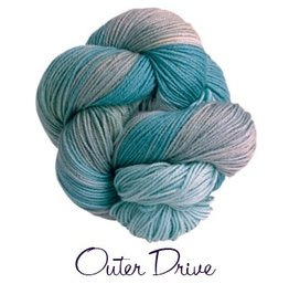 Lornas Laces Shepherd Worsted, The Outer Drive *CLEARANCE*