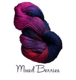 Lornas Laces Shepherd Worsted, Mixed Berries