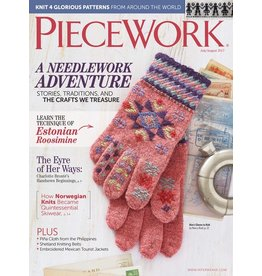 Interweave Piecework, July/August 2017