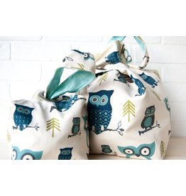 Binkwaffle Dumpling Bag - Large, Hooty Blue