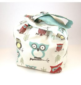 Binkwaffle Dumpling Bag - Large, Hooty Red