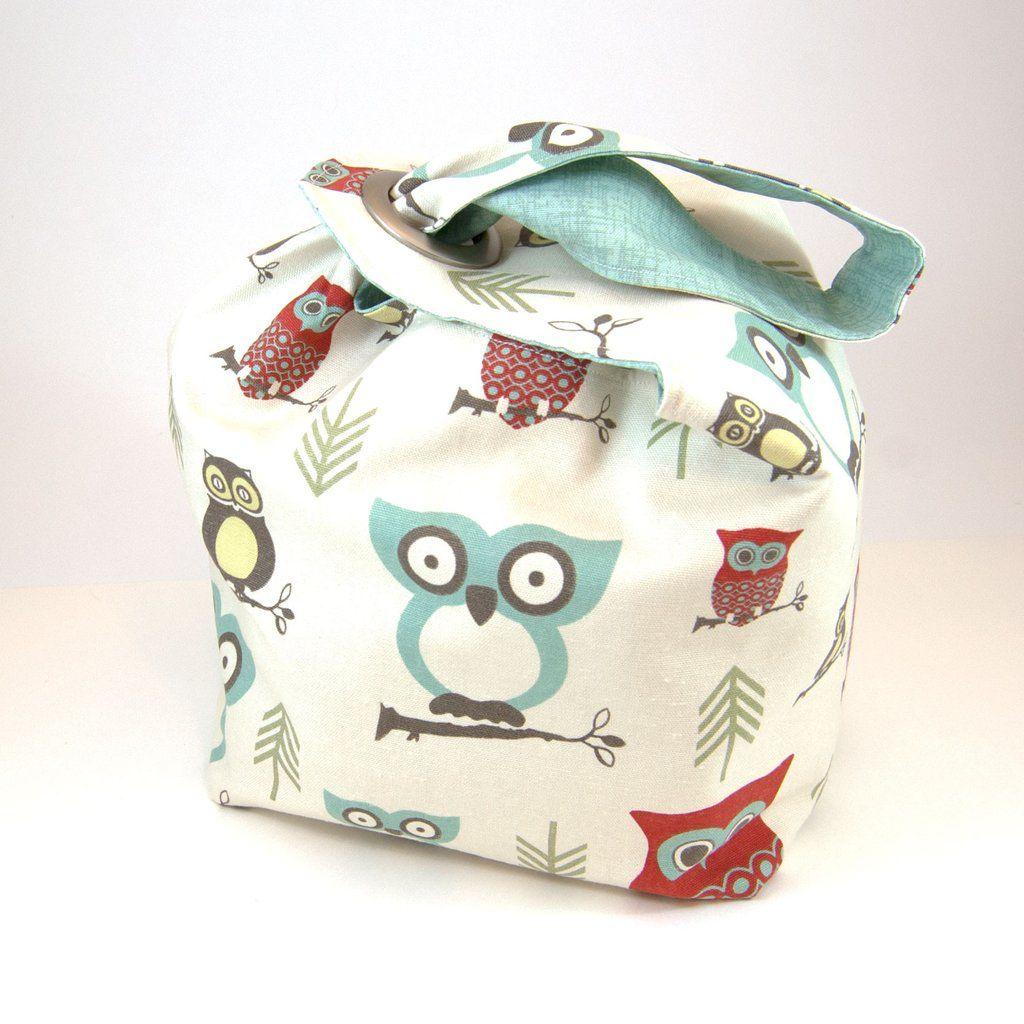 Binkwaffle Dumpling Bag - Large, Hooty Red