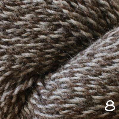 Baa Ram Ewe Dovestone Natural Aran, Color 8