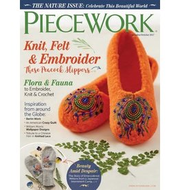 Interweave Piecework, September/October 2017
