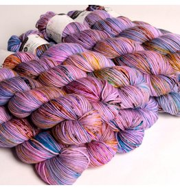Hedgehog Fibres Hand Dyed Yarns Skinny Singles, Birthday Cake