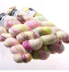 Hedgehog Fibres Hand Dyed Yarns Skinny Singles, Crybaby