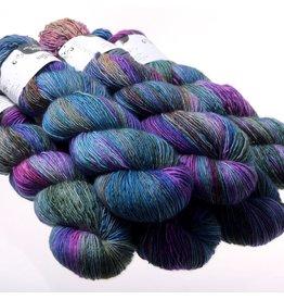 Hedgehog Fibres Hand Dyed Yarns Skinny Singles, Dragonfly