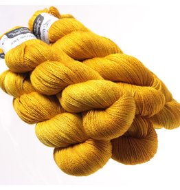 Hedgehog Fibres Hand Dyed Yarns Skinny Singles, Pollen