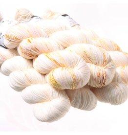 Hedgehog Fibres Hand Dyed Yarns Skinny Singles, Seed