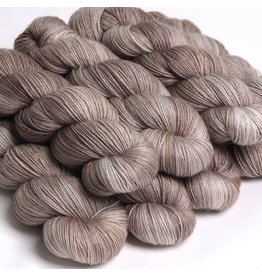 Hedgehog Fibres Hand Dyed Yarns Skinny Singles, Stone