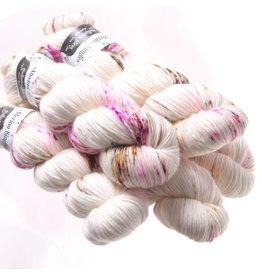 Hedgehog Fibres Hand Dyed Yarns Skinny Singles, Teacup