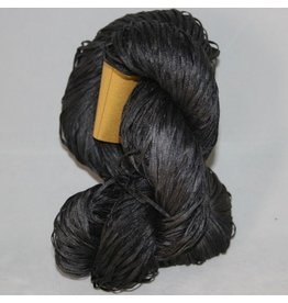 Alchemy Yarns of Transformation Silken Straw, Obsidian
