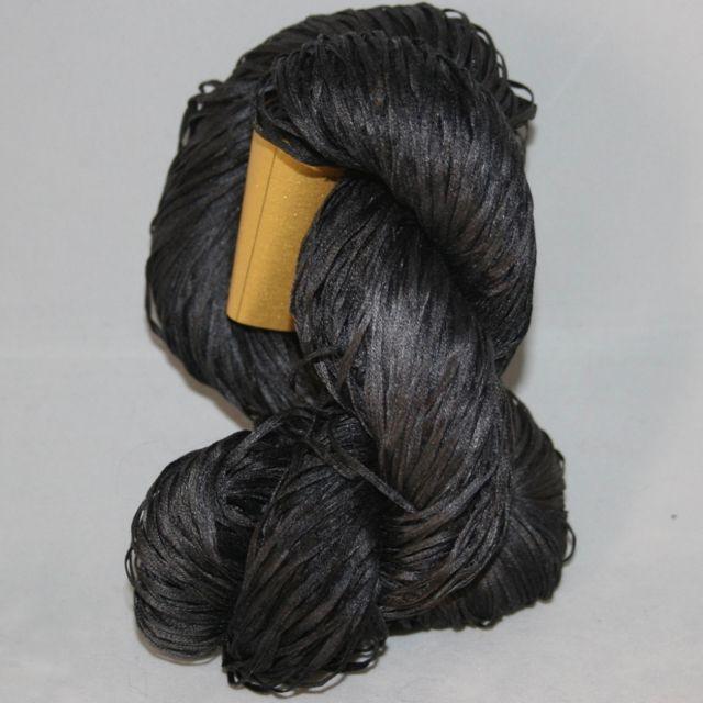 Alchemy Yarns of Transformation Silken Straw, Obsidian