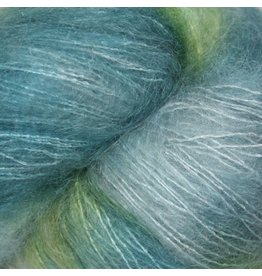 Hedgehog Fibres Hand Dyed Yarns Kidsilk Lace, Damp (Discontinued Color)