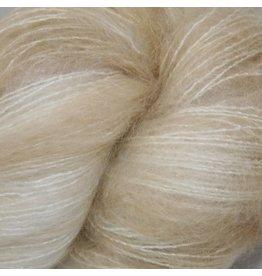Hedgehog Fibres Hand Dyed Yarns Kidsilk Lace, Silence