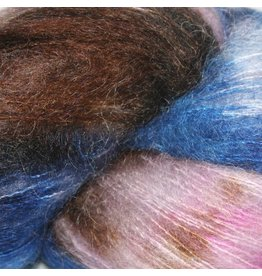 Hedgehog Fibres Hand Dyed Yarns Kidsilk Lace, Hurricane