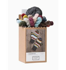 Blue Sky Fibres 21 Color Mitt Kit