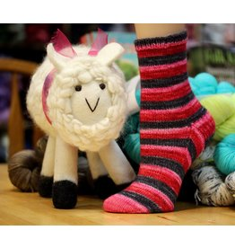 For Yarn's Sake, LLC Toe-Up Socks. Saturdays November 4, 18, & December 2, 2017. Class time: 1-3pm.