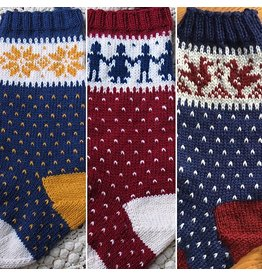 For Yarn's Sake, LLC Snowflake (or Choose Your Own Adventure) Holiday Stocking. Sunday November 12, 2017. Class time:1-3:30pm.