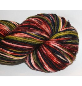 Knitted Wit Targhee Shimmer Worsted, Dirty Santa