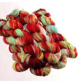 Hedgehog Fibres Hand Dyed Yarns Sock Yarn, Bollywood