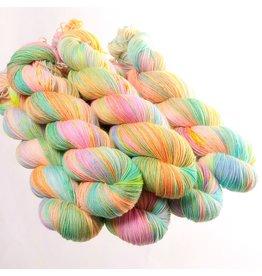 Hedgehog Fibres Hand Dyed Yarns Sock Yarn, Foam