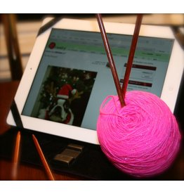 For Yarn&#039;s Sake, LLC High Tech Crafting: Tablets &amp; Knitting.  Saturday March 31.<br /> Class time: 1-3pm.