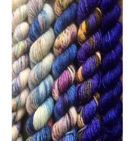 For Yarn's Sake, LLC Fading Point Jilly Yarn Kit, Bedtime Whisper *Pre-Order*