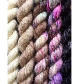 For Yarn's Sake, LLC Fading Point Jilly Yarn Kit, Black Pearl Mesa *Pre-Order*