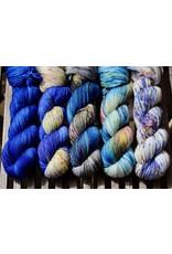 For Yarn's Sake, LLC Fading Point Wrap Kit, Bedtime Whisper (Jilly)