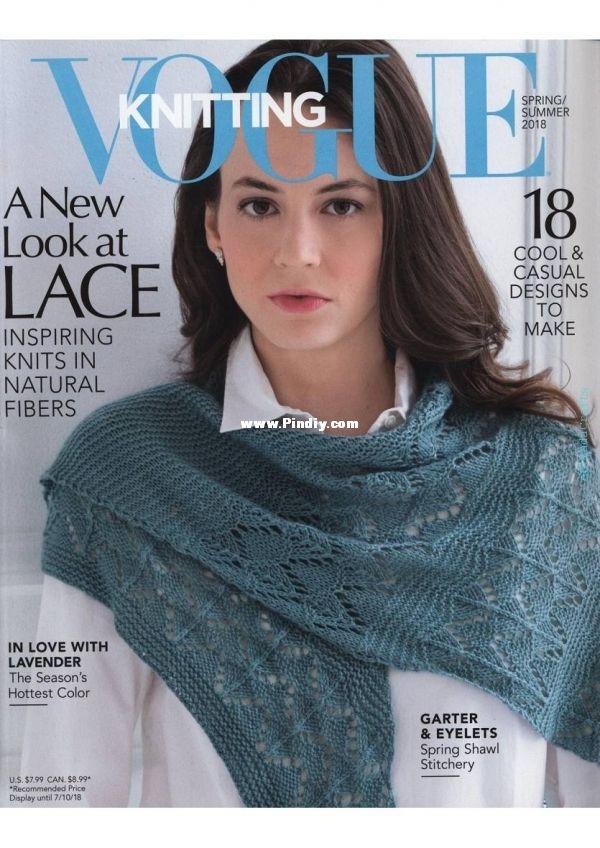 Soho Publishing Vogue Knitting, Spring / Summer 2018
