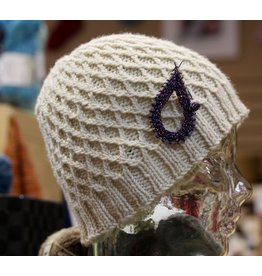 For Yarn's Sake, LLC Cables Without a Cable Needle: The Koolhaas Hat.  Saturday August 18, 1-3pm. Anne Lindquist, Instructor.
