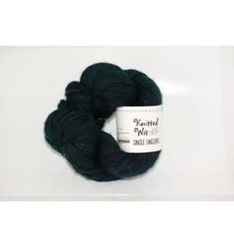Knitted Wit Single Fingering, Black Forest