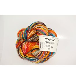 Knitted Wit Victory Sock, Endless Summer Series - Fiesta