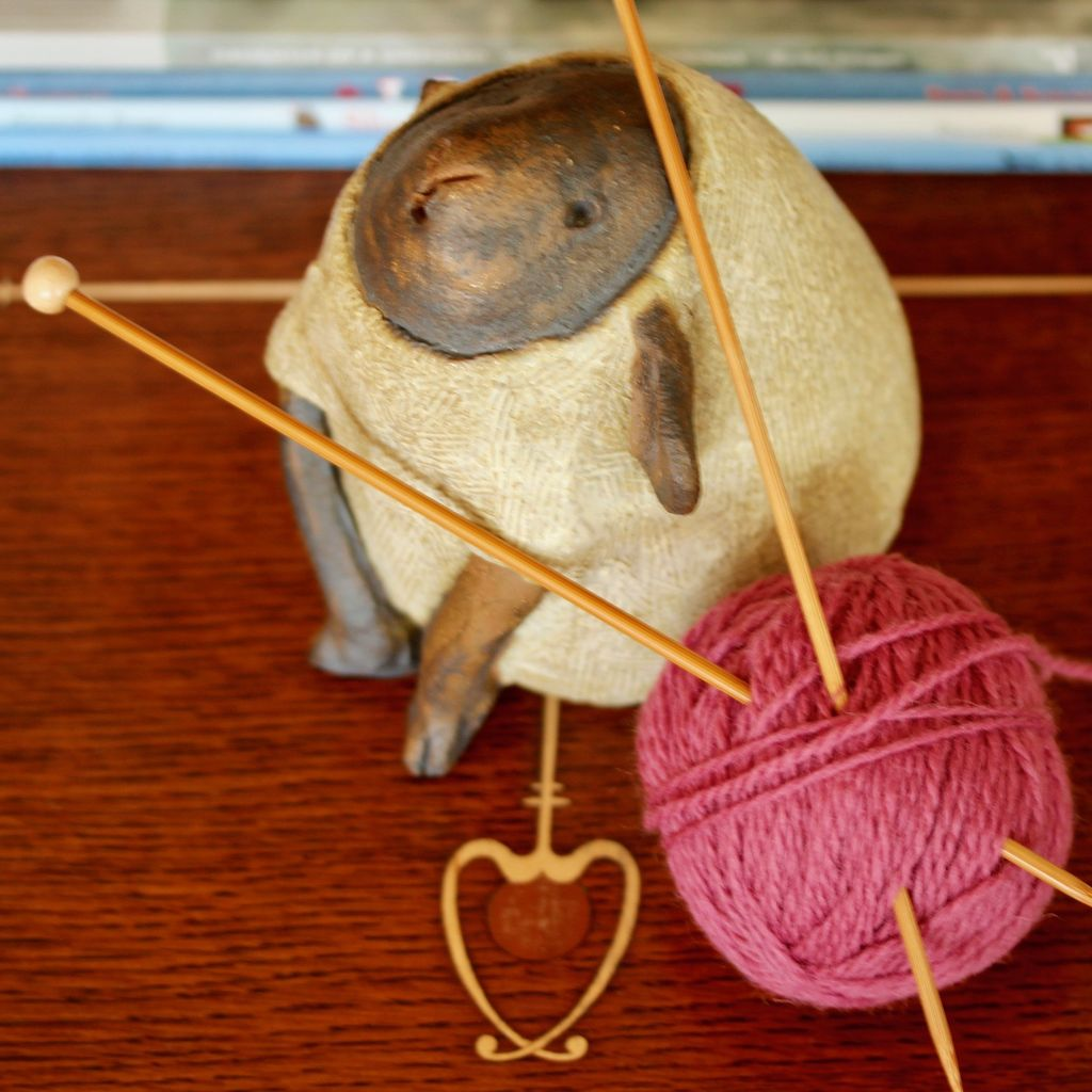 For Yarn's Sake, LLC Knitting Workshop Coterie - Friday August 24, 2018. Class time: 10am-Noon.