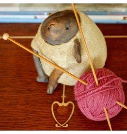For Yarn's Sake, LLC Knitting Workshop Coterie - Wednesday September 19, 2018. Class time: 11am-1pm.