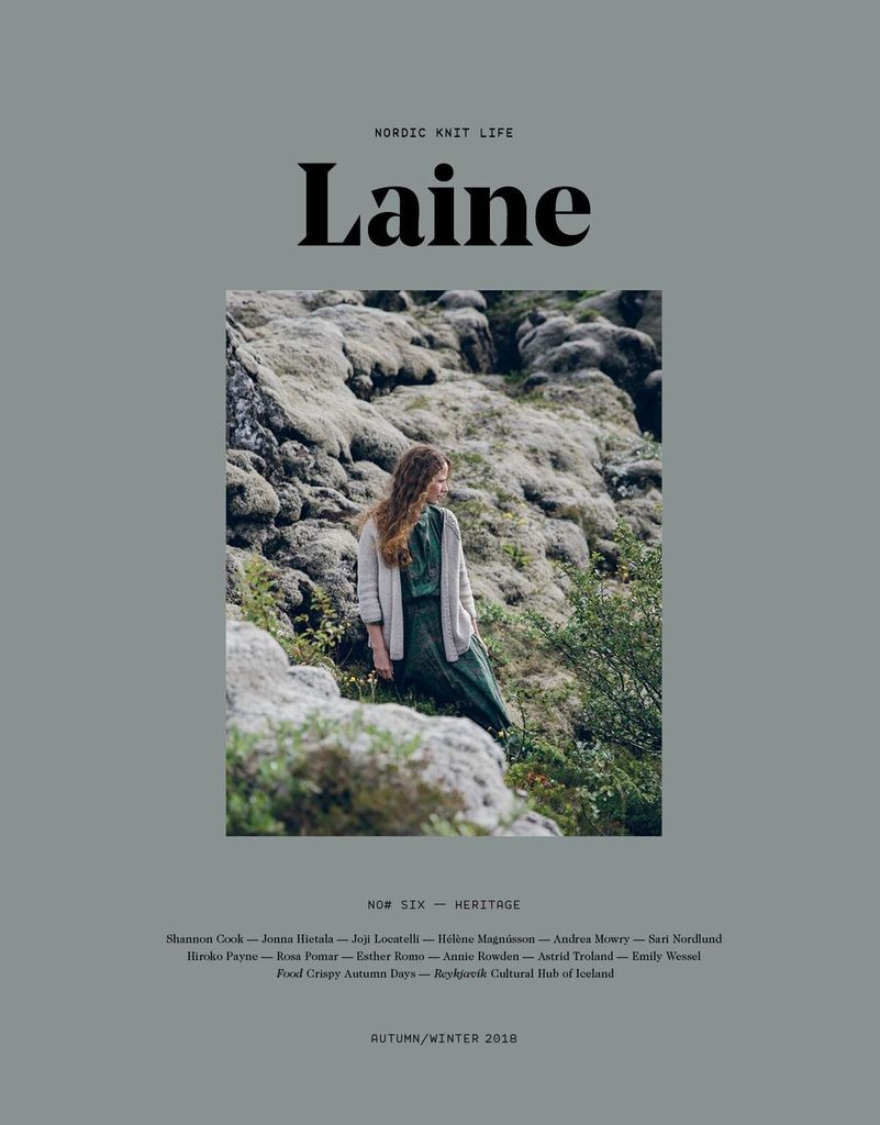 Laine Magazine Laine Issue 6 - Nordic Knit Life, Autumn/Winter 2018 *PRE-ORDER*