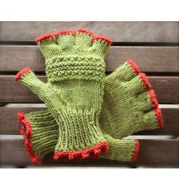 For Yarn's Sake, LLC Double Knit Mitts  Saturdays October 13 & 20, 1-3pm. Y'vonne Cutright, Instructor.