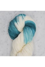 Swans Island Dip Dyed Collection, Little Dippers, Natural/Verdigris