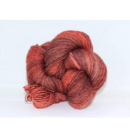 Madelinetosh Tosh Merino Light - Copper Glitter, Subtle Flame