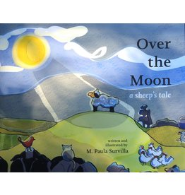 Knit Baah Purl Over The Moon, A Sheep's Tale